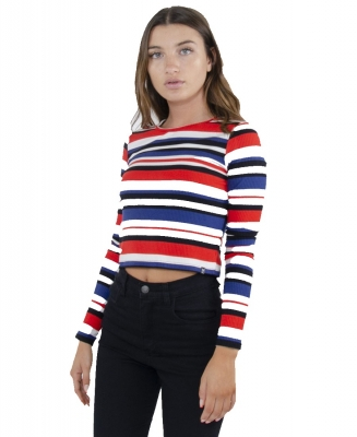 REMERA ML MORLEY STRIPES YTQ