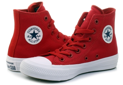 CHUCK TAYLOR ALL STAR II HI SALSA RED WH