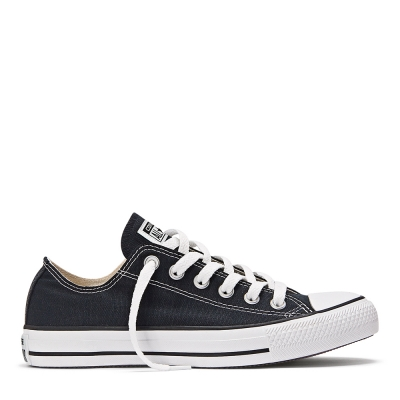 ZAPATILLAS CONVERSE CHUCK TYLOR CORE OX BLACK LINEA NEGRA