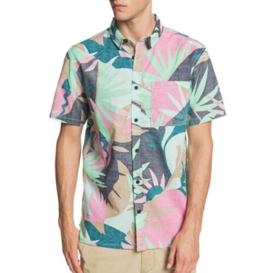 CAMISA MC TROPICAL FLOW QUIKSILVER