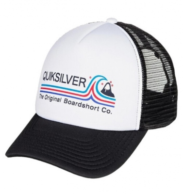 CAP STANDARDS TRUCKER BLANCO QUIKSILVER