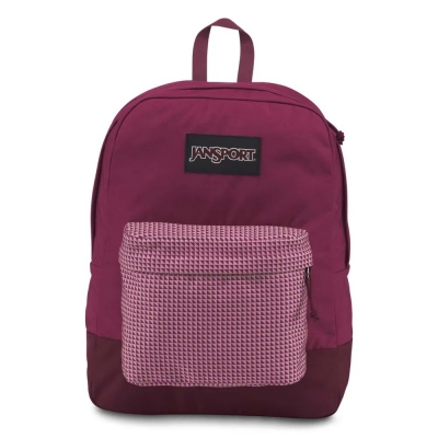 MOCHILA JANSPORT BLACK LABEL BORDO