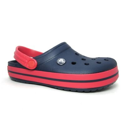 CROCS CROCBAND NAVY RED NAVY