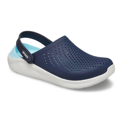 CROCS LITERIDE CLOG NAVY ALMOST WHITE
